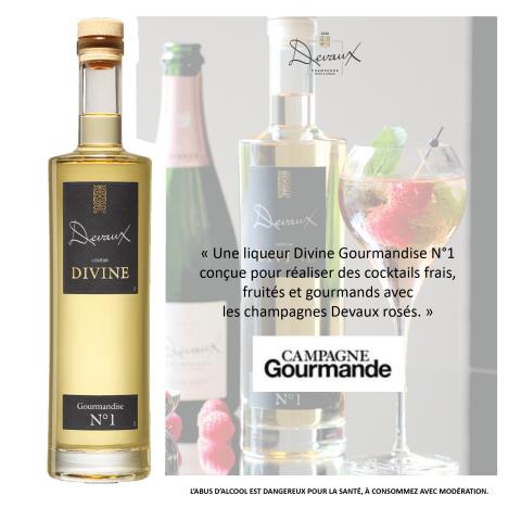 Campagne gourmande Liqueur Divine Gourmandise N°1
