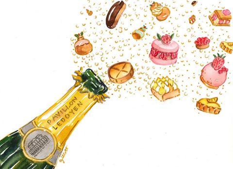 Salon des Champagnes & pâtisseries fines au Pavillon Ledoyen