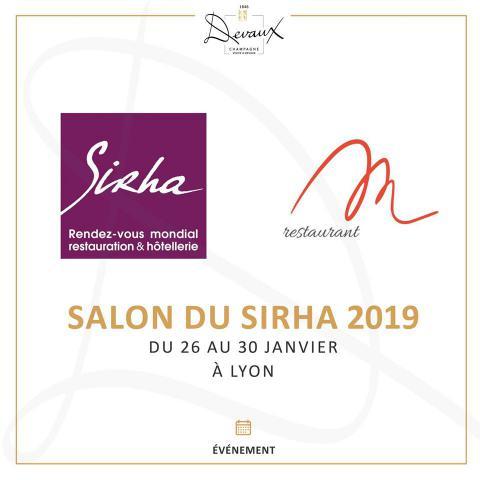 Sirha 2019 - M Restaurant Lyon