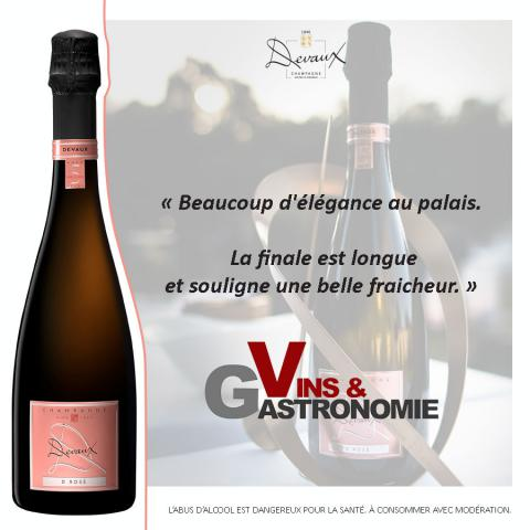 Vins & Gastronomie - D Rosé