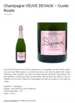 Vins et gastronomie - Cuvée Rosée