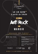 Concert Art-Rock au Manoir