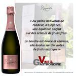 Vins & Gastronomie - Cuvée Rosée